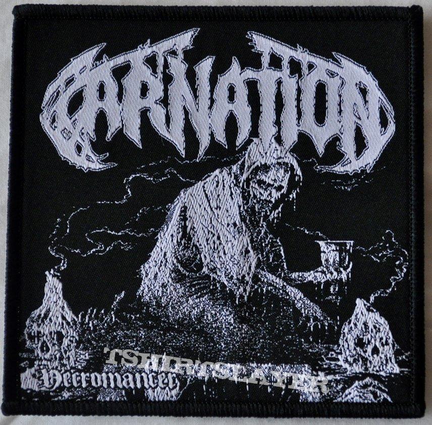 "Bodyfarm / Carnation – S.M.D. / Necromancer 7"" Green Vinyl"
