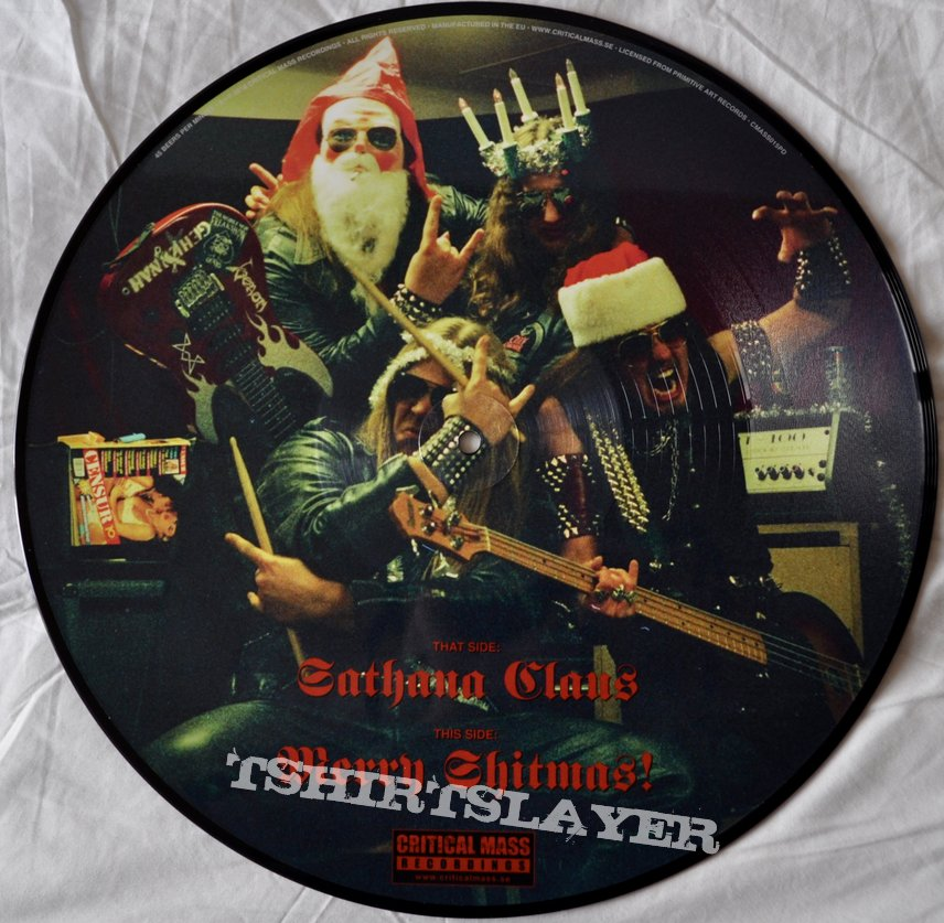 Gehennah ‎– No Fucking Christmas! Picture Disc Vinyl