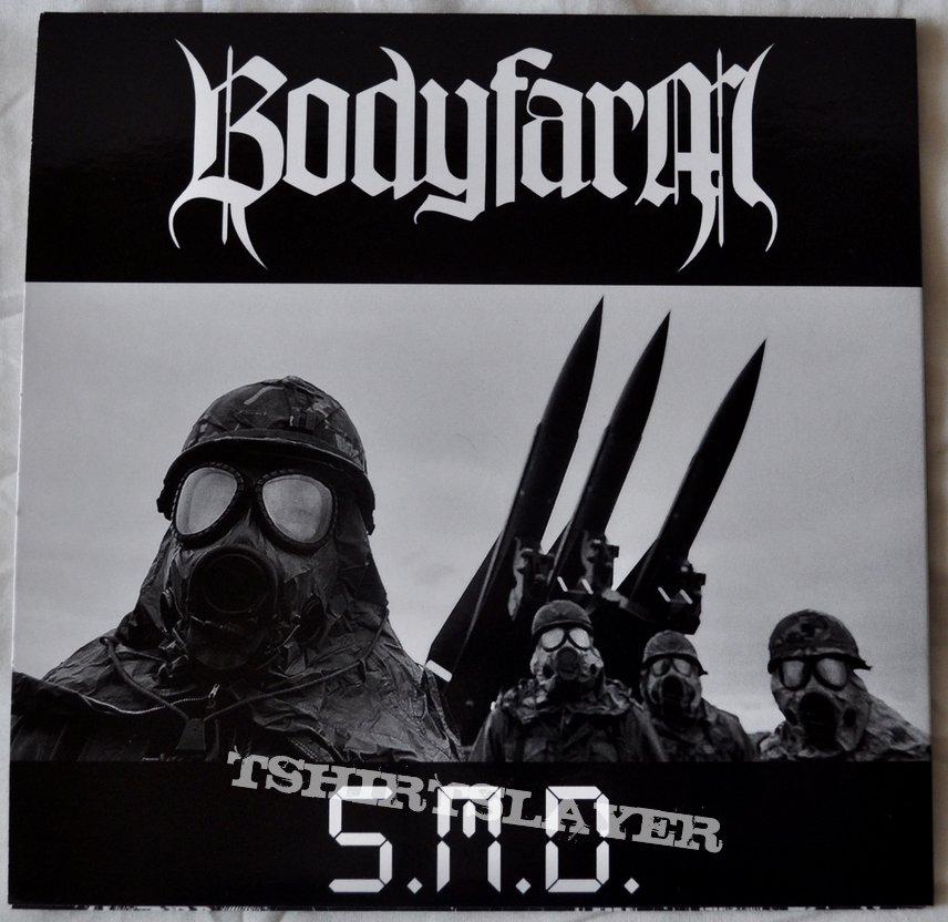 "Bodyfarm / Carnation – S.M.D. / Necromancer 7"" Vinyl"