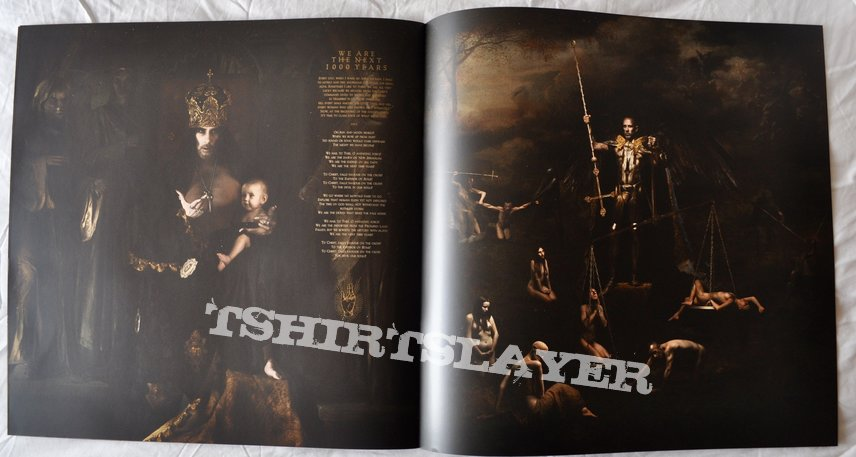 Behemoth – I Loved You At Your Darkest Clear Milky with White Vinyl