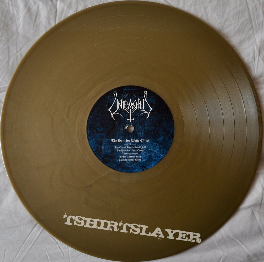 Unleashed – The Hunt For White Christ Gold Vinyl