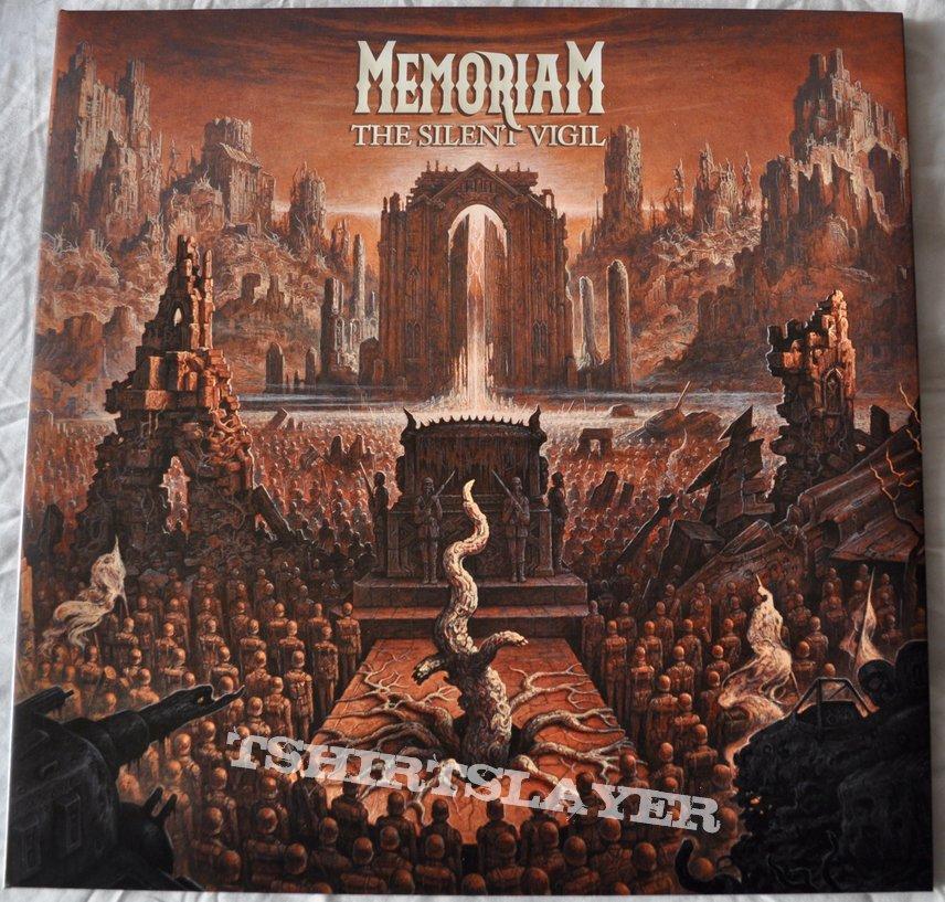 Memoriam – The Silent Vigil Bi-colored Red/White Vinyl