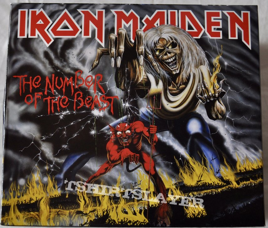 Iron Maiden – The Number Of The Beast CD Box