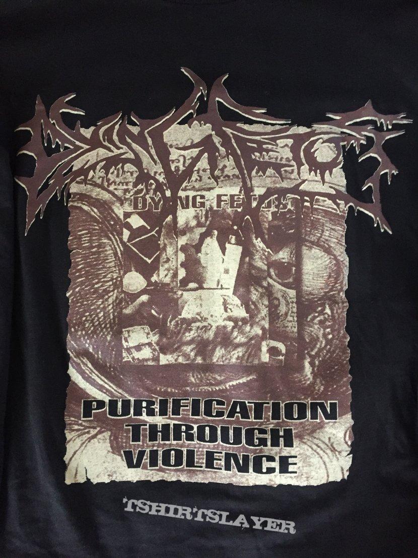 DYING FETUS Purification Through Violence tour longsleeve