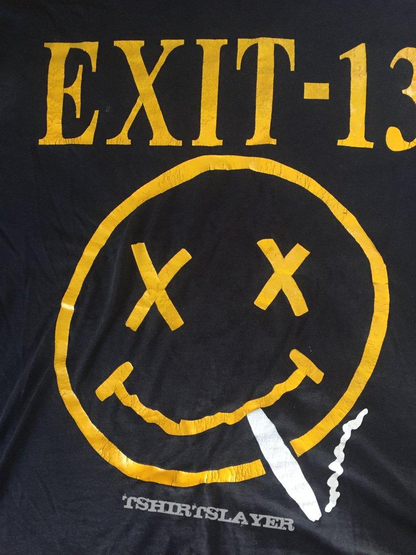 EXIT-13 Nevermind Nirvana shirt