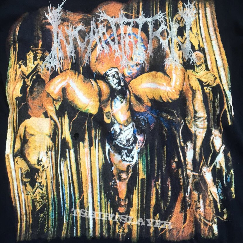 INCANTATION Mortal Throne Mexico Tour 1995