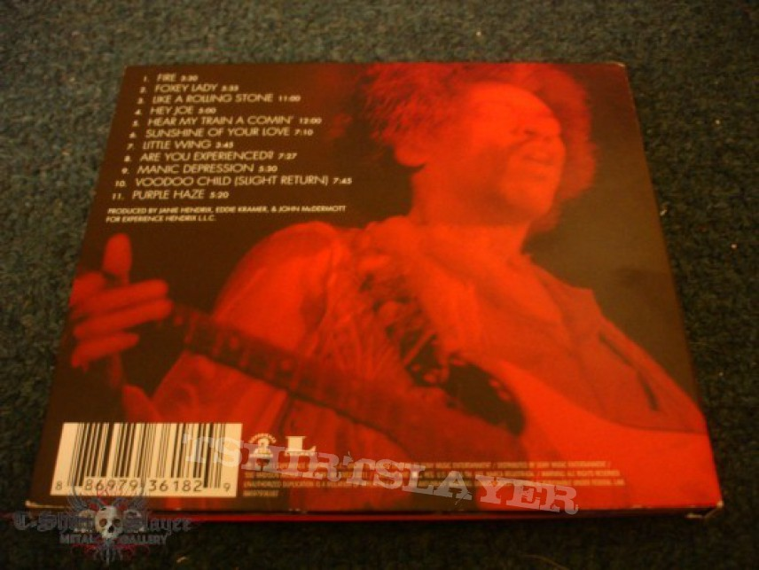 Other Collectable - Jimi Hendrix Winterland Digipack CD