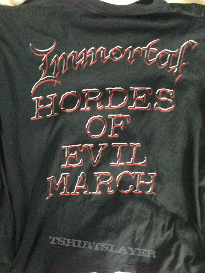Immortal - Damned in Black LS