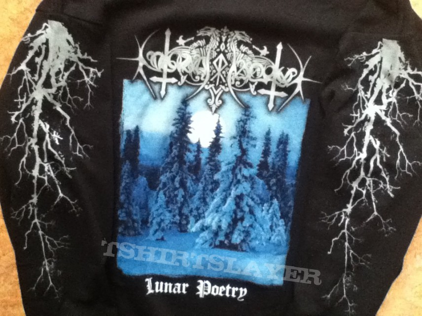 TShirt or Longsleeve - Nokturnal Mortum - Lunar Poetry LS