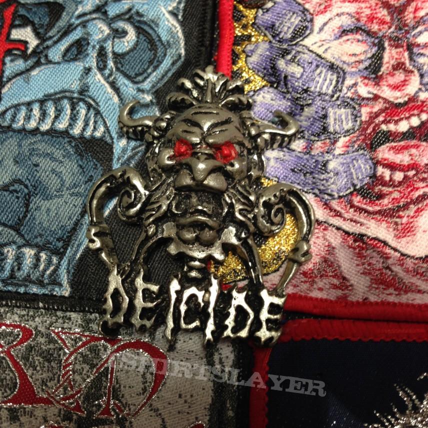 Pins, badges, pendants on my jacket so far
