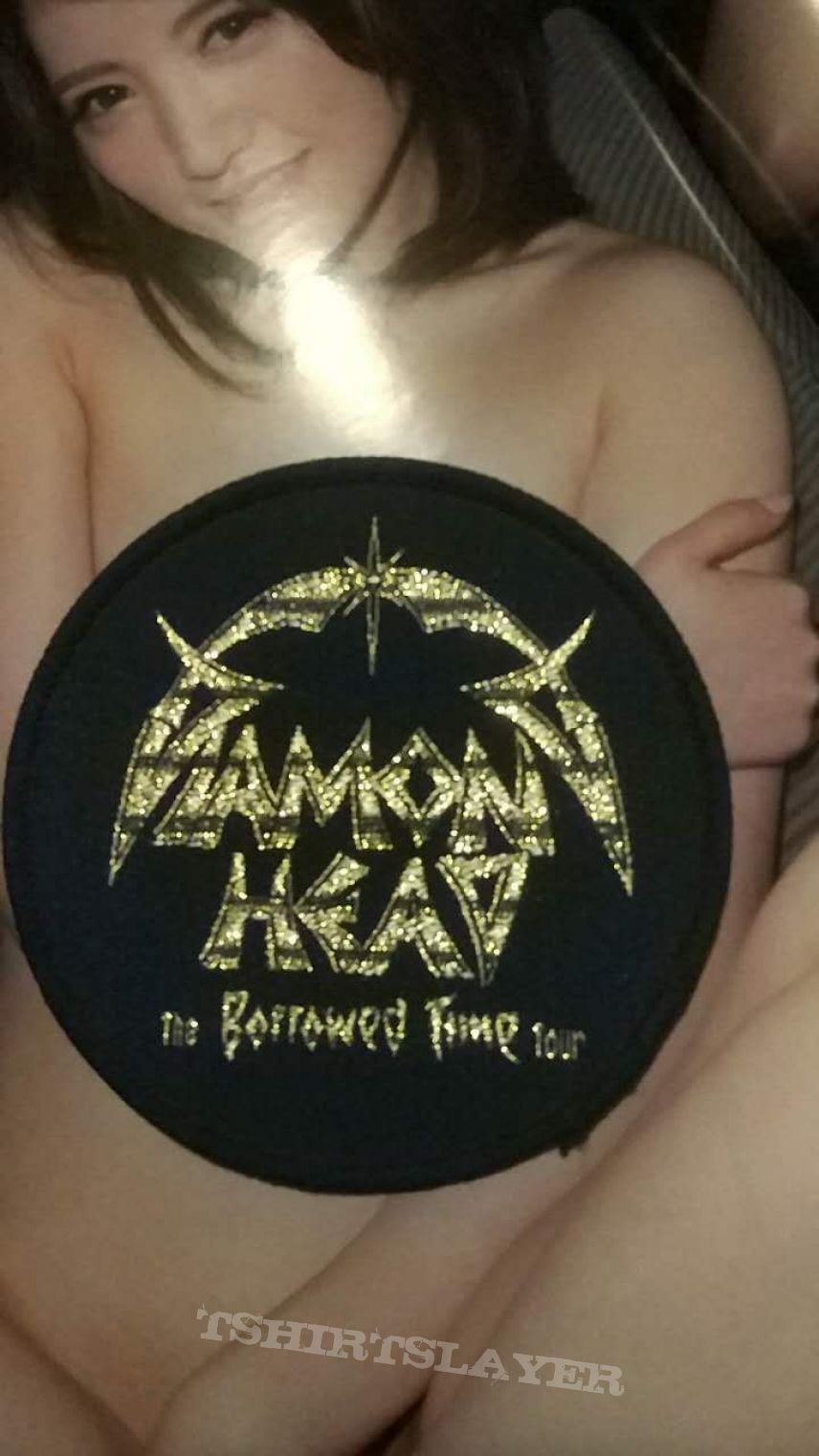 Diamond Head vintage patch, not used