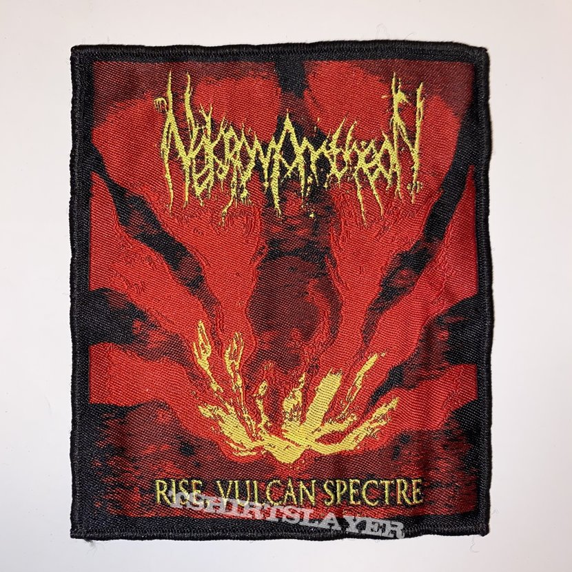 Nektomantheon - Rise, Vulcan Spectre Woven Patch