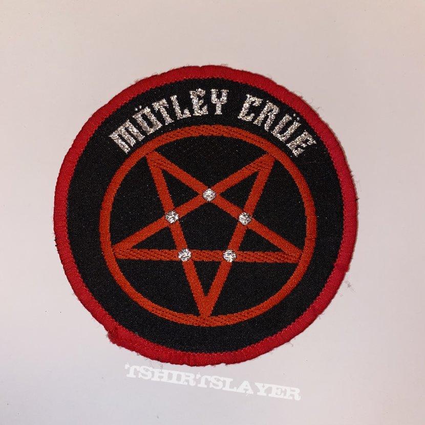 Mötley Crüe VTG Woven Patch (Red Border)