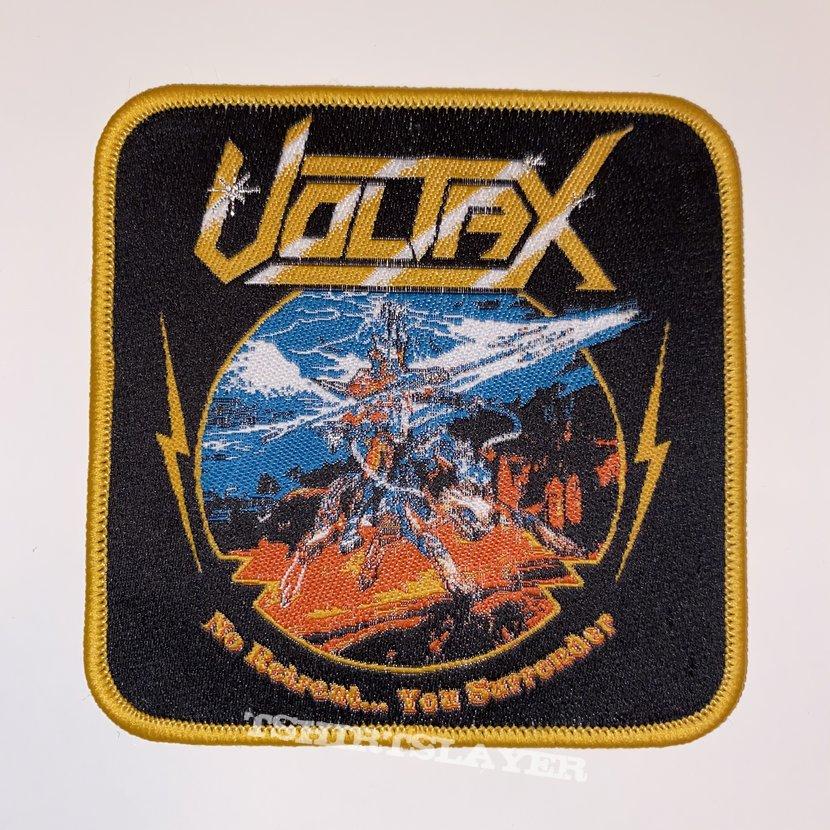 Voltax - No Retreat... You Surender Woven Patch