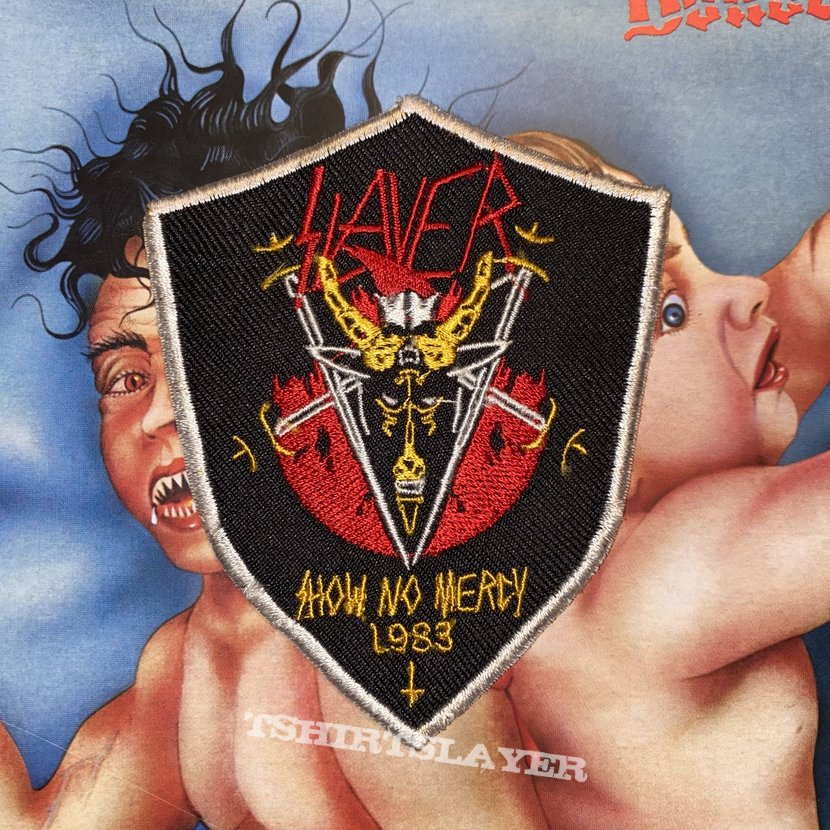 Slayer - Show No Mercy 1983 Embroidered Patch