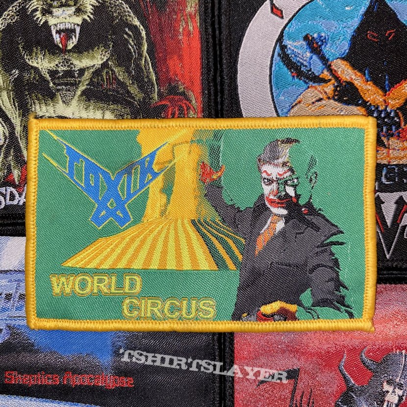 Toxik - World Circus Woven Patch