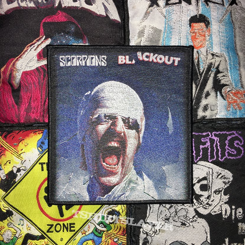 Scorpions - Blackout Woven Patch