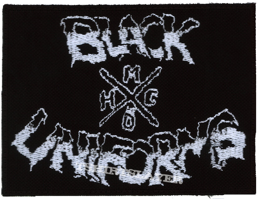 Black Uniforms embroidered patch