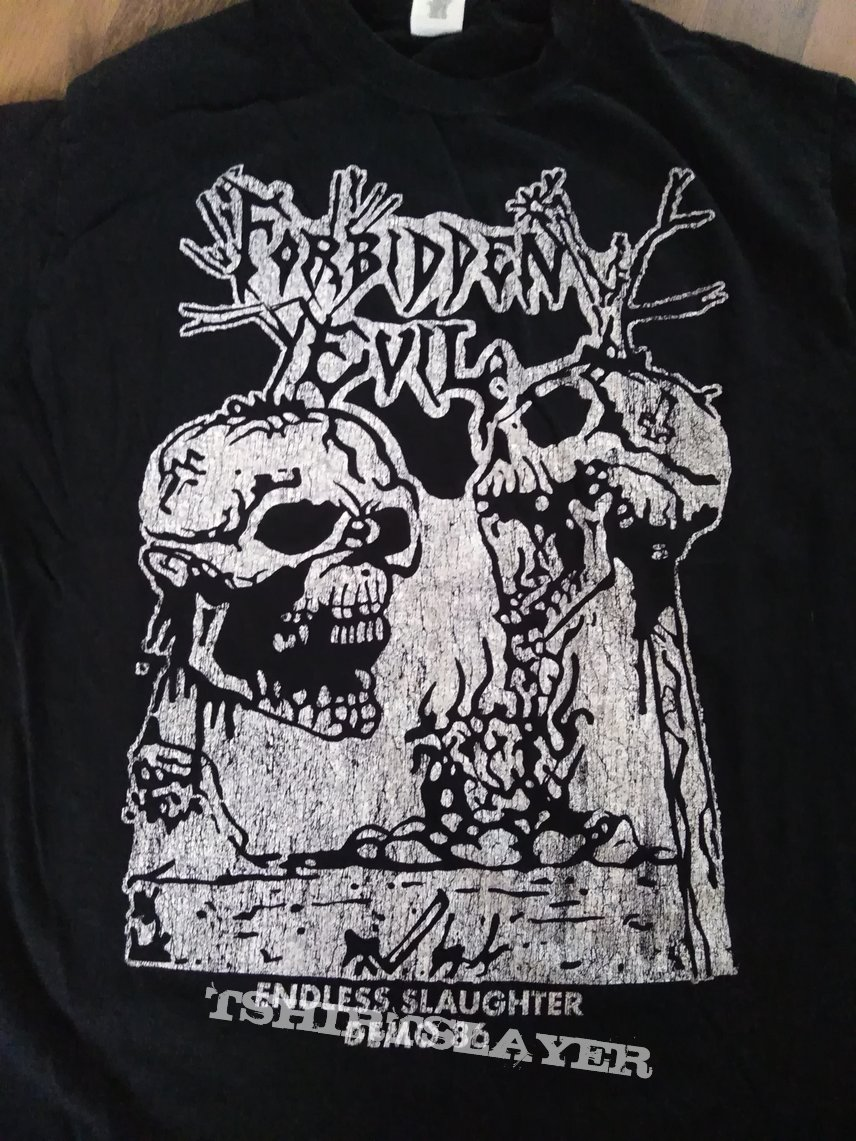 Forbidden Evil Endless Slaughter Demo shirt