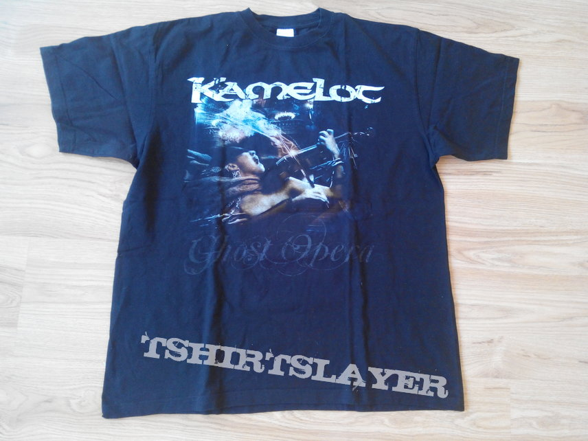 Kamelot - Rule The World Tour Europe 2009 t shirt Size - XL