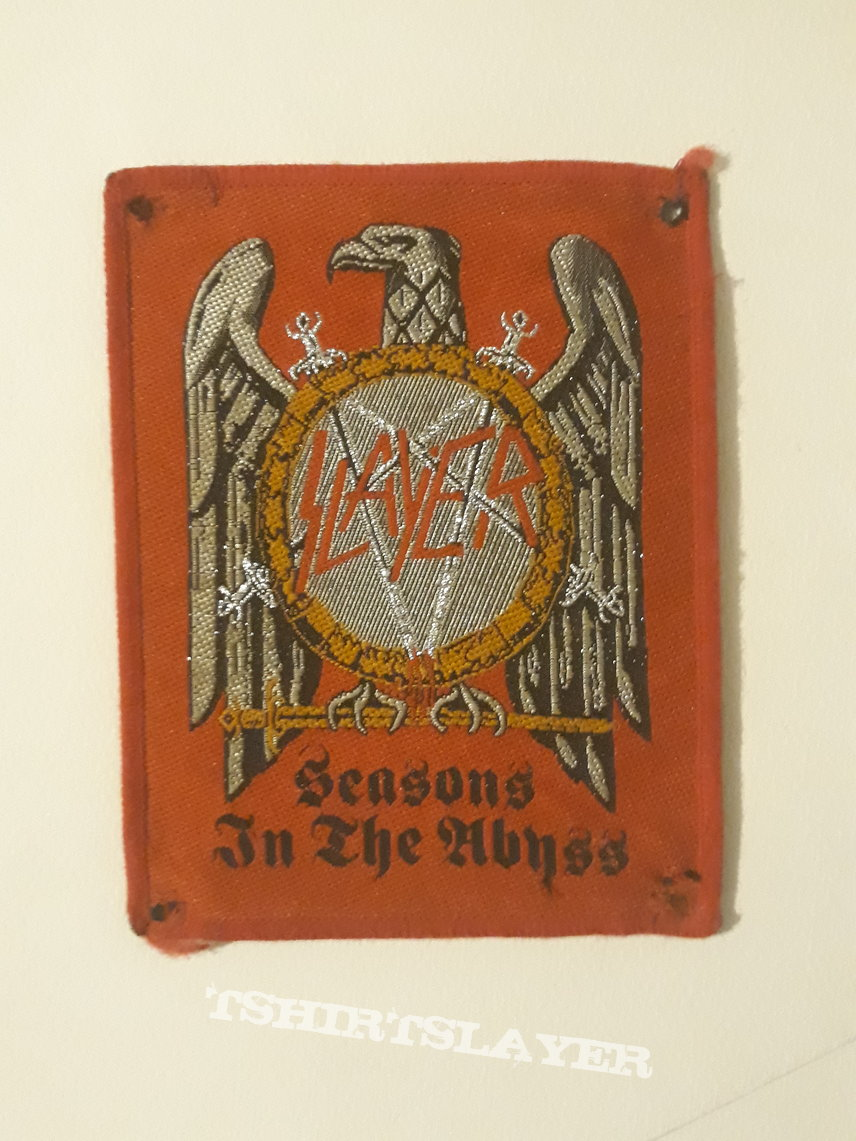 Seasons in the abyss red border patch