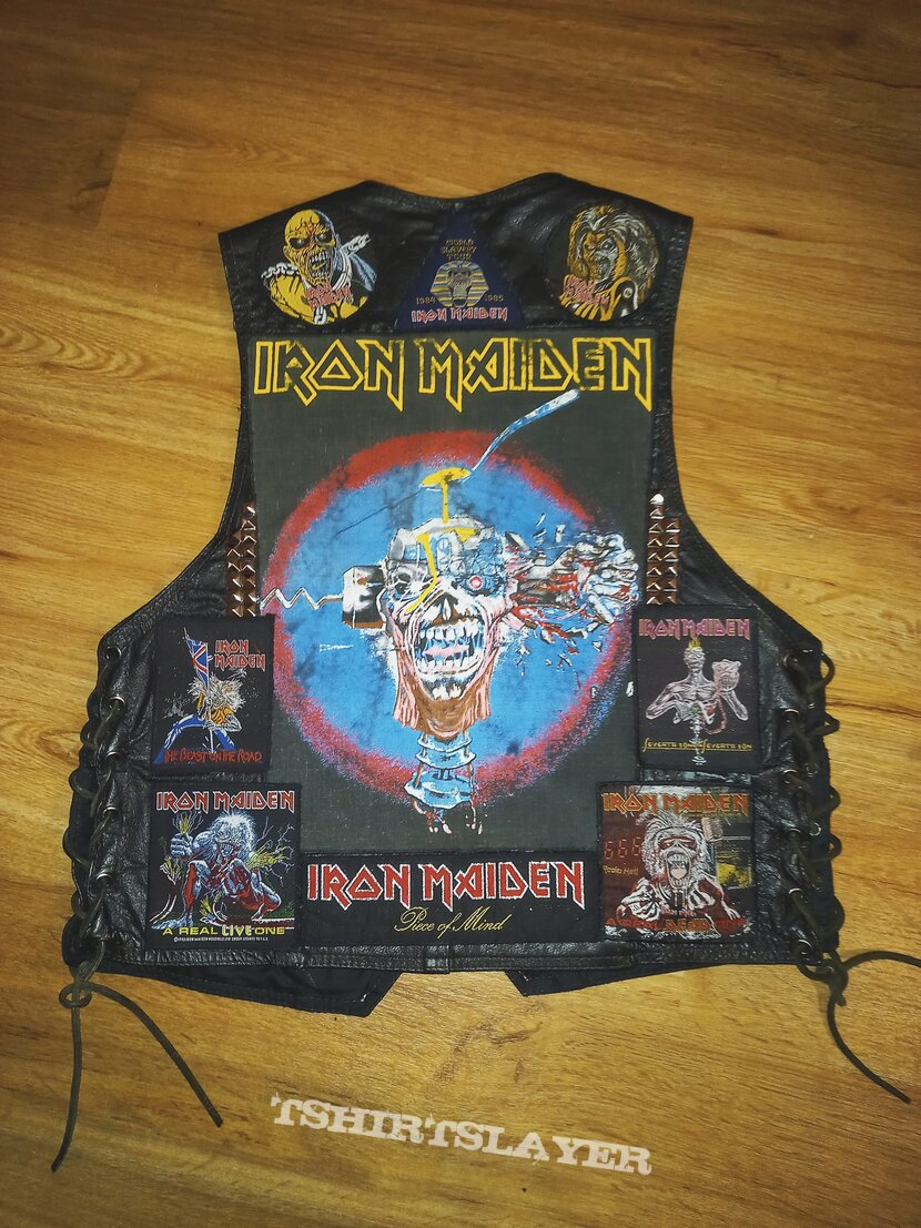 Iron Maiden, leather and studs