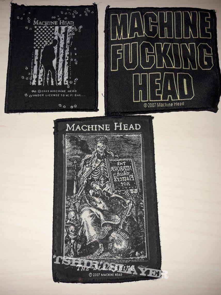 Machine Head Patches