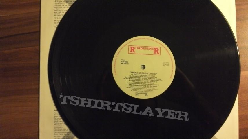 S.O.D. - Speak English Or Die LP