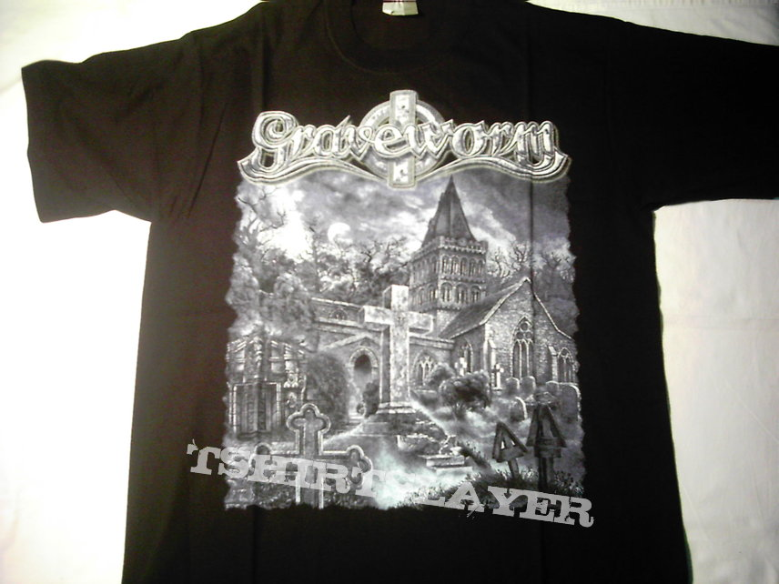 Graveworm Engraved In Black t-shirt 2003 First print Never used