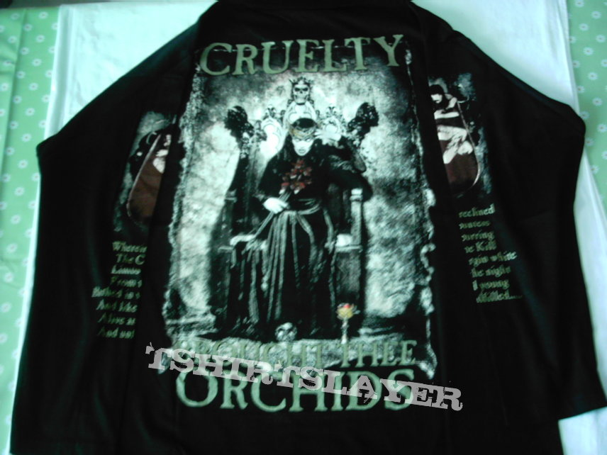 New Sew On Patch Official Band Merch Cradle Of Filth Cruelty Of