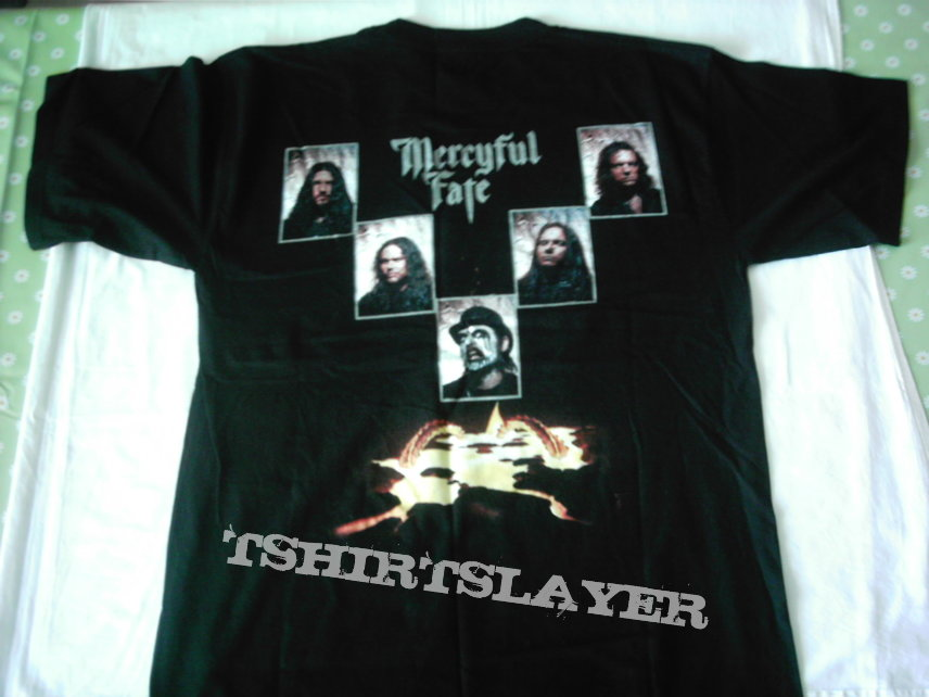 Mercyful Fate 9 logo band picture 1999 t-shirt First print Never used