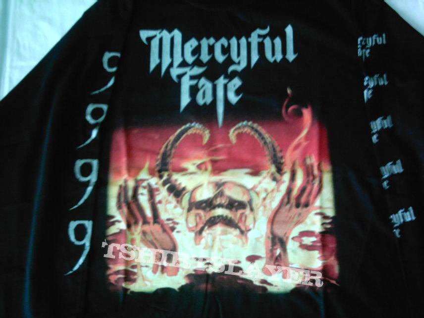 Mercyful Fate 9 European Tour 1999 longsleeve RARE First print Never used