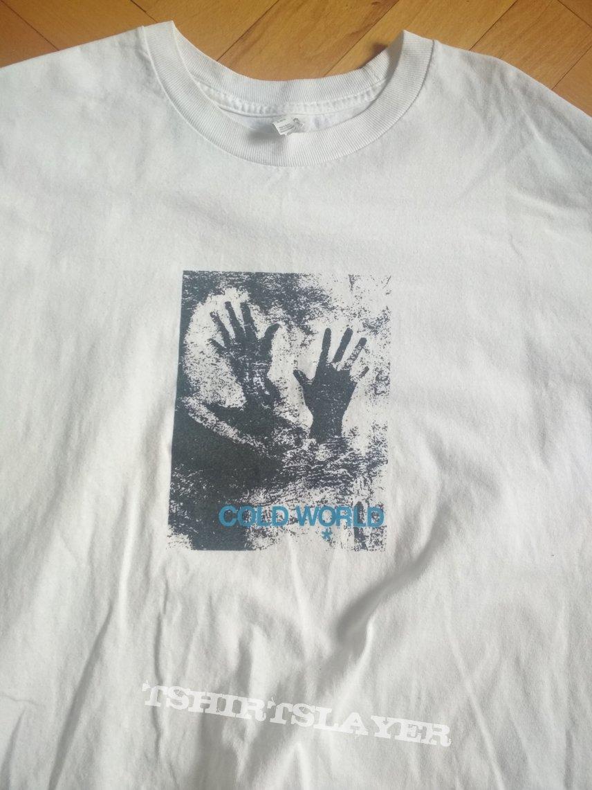 ColdWorld CDG rip Tshirt