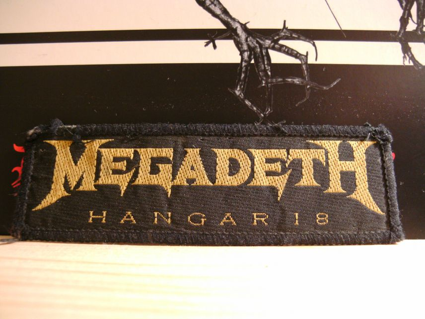 Megadeth Hangar 18 patch