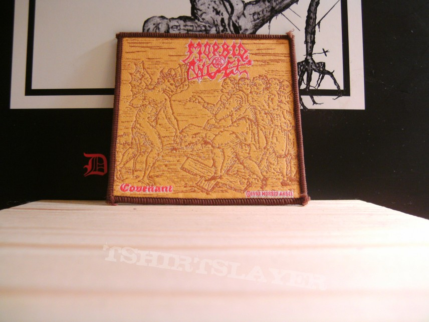 Morbid Angel - Covenant yellow (brown border) patch