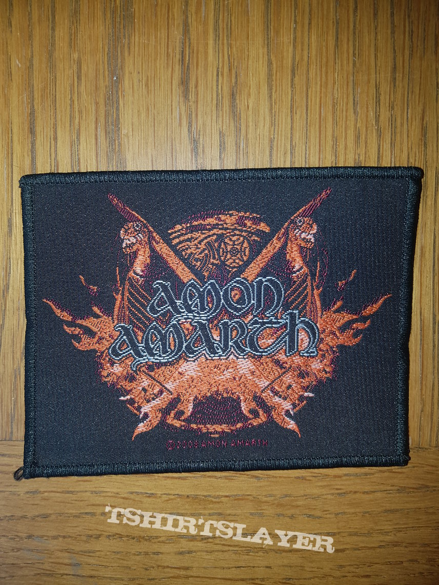Amon Amarth patches