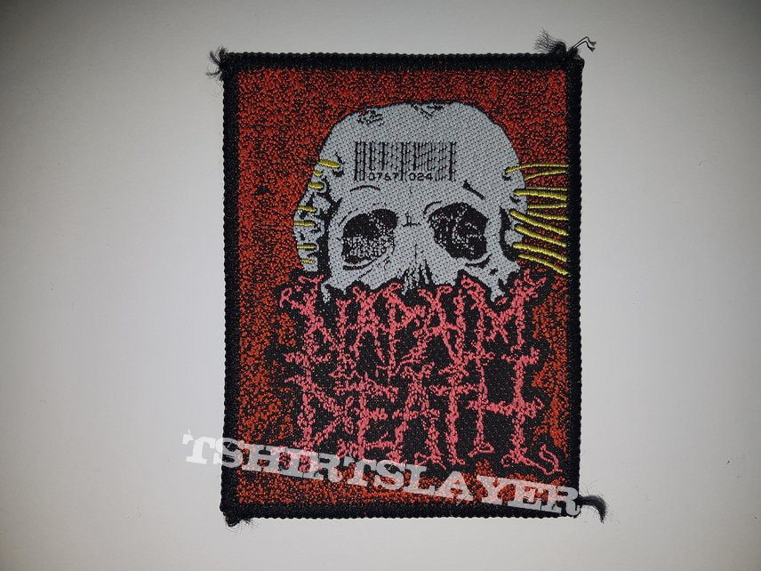 Napalm Death patch