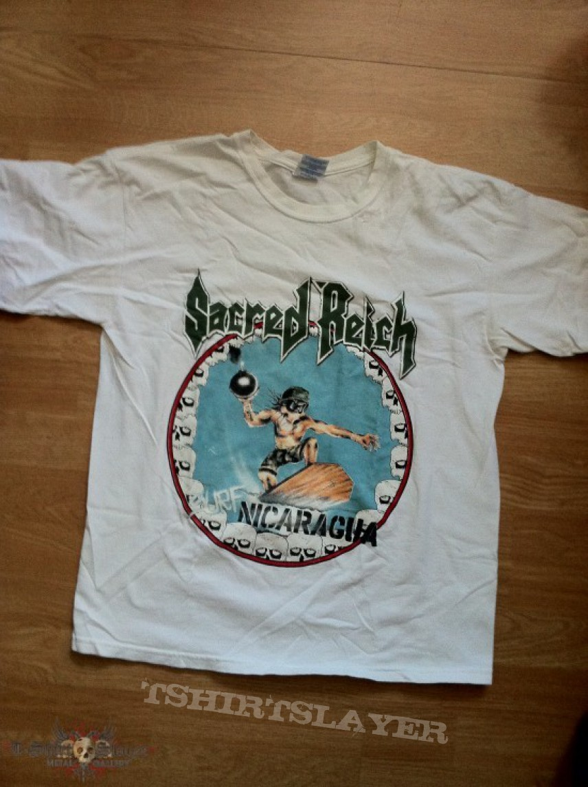 Surf Nicaragua T-shirt Kreativ Sacred Reich Kleidung & Accessoires
