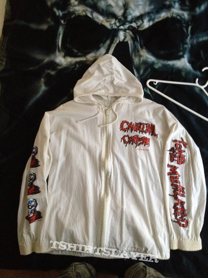 Cannibal Corpse - Tomb... hooded blouson with zipper