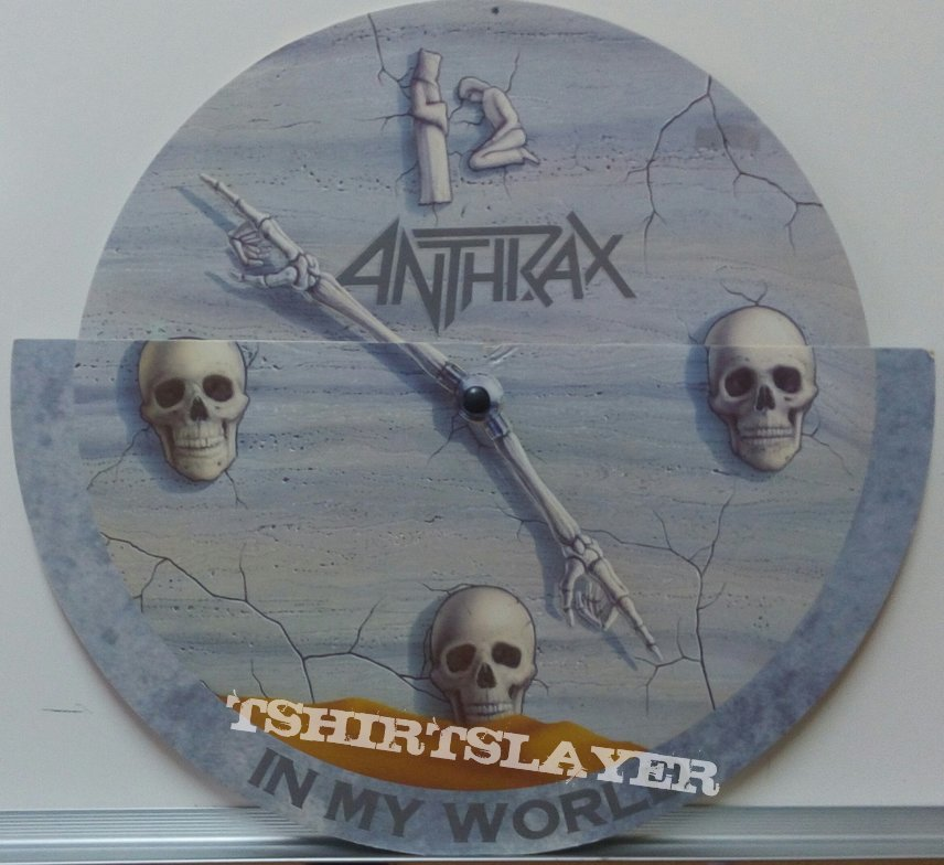 "Anthrax - In My World 10"" single"