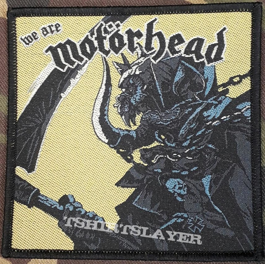 Motörhead - We Are Motörhead Patch