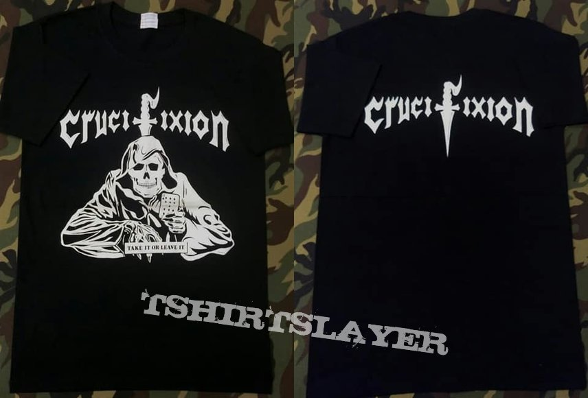 Crucifixion - Take It or Leave It Shortsleeve