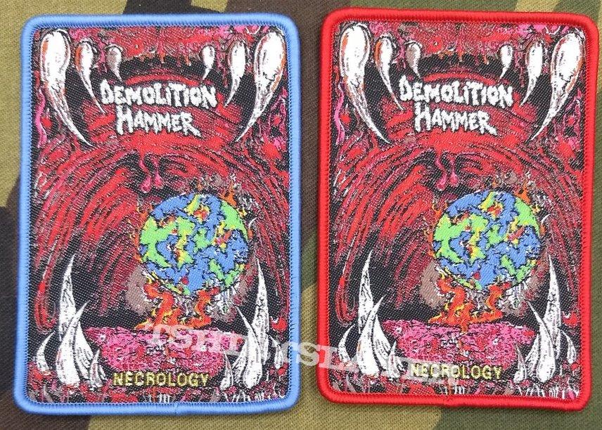 Demolition Hammer - Necrology Patch