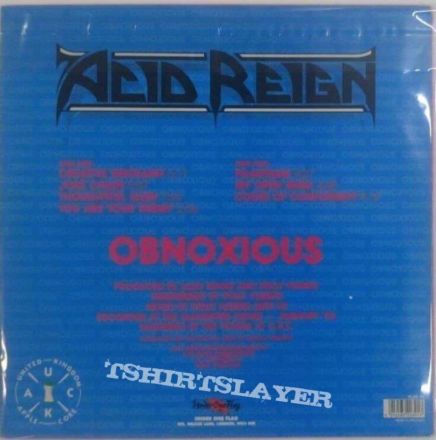 Acid Reign - Obnoxious Vinyl