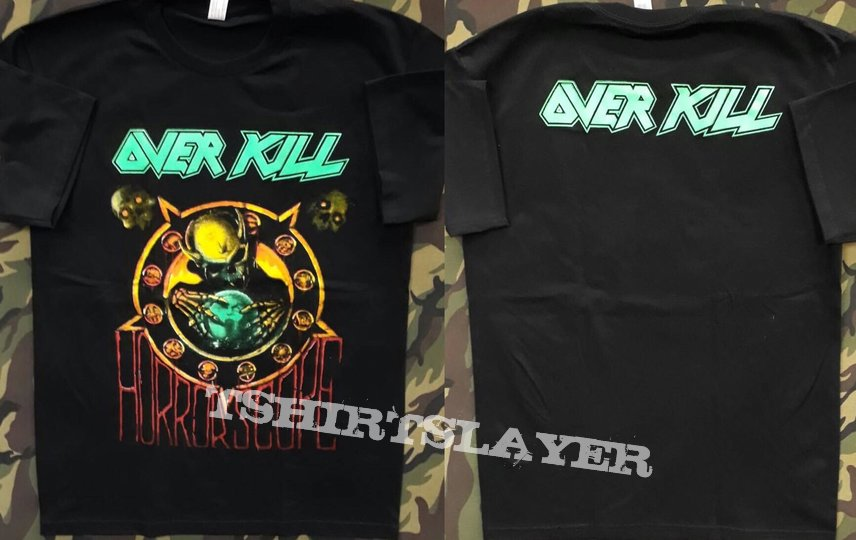 Overkill - Horrorscope Shortsleeve