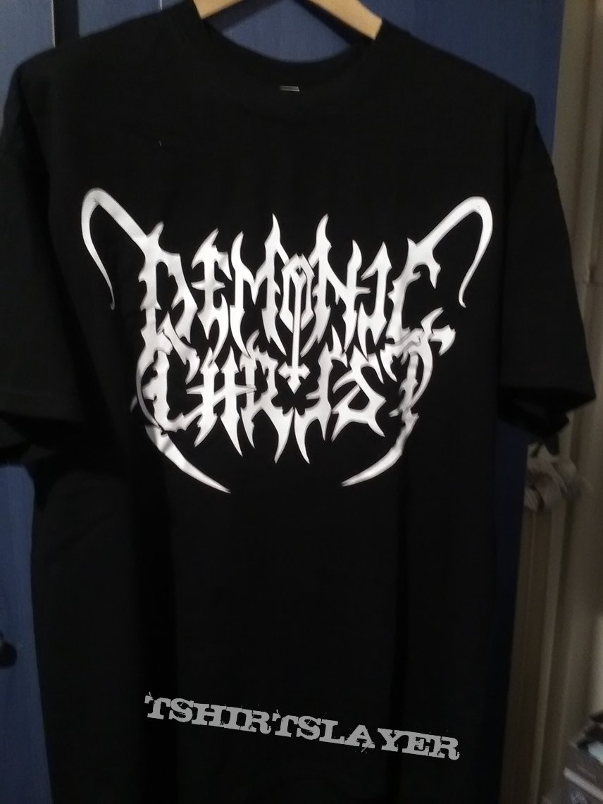 Demonic christ t-shirt