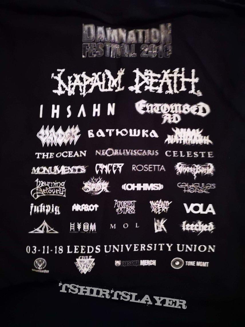 Damnation 2018 Festival Shirt