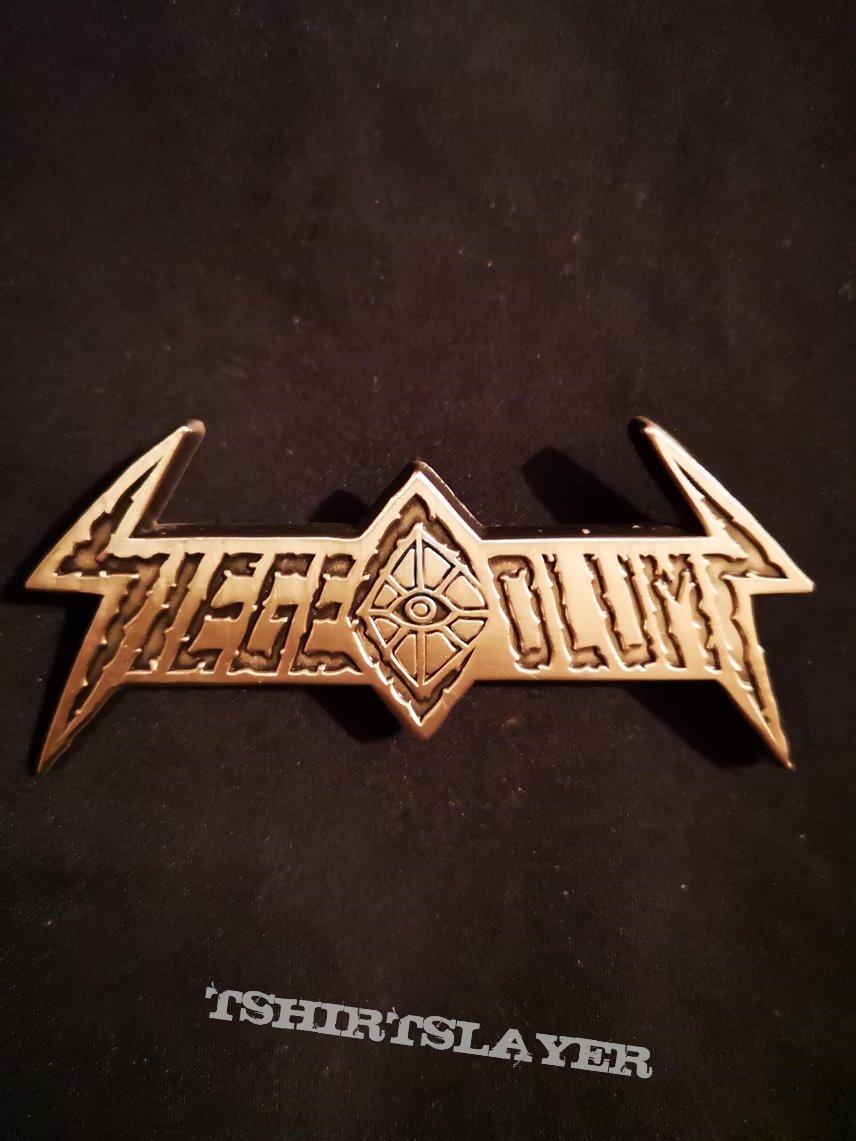 Siege Column - Logo Pin