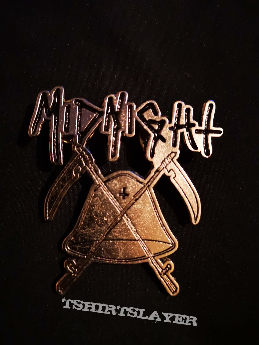 Midnight - Bell and Scythes Logo Pin