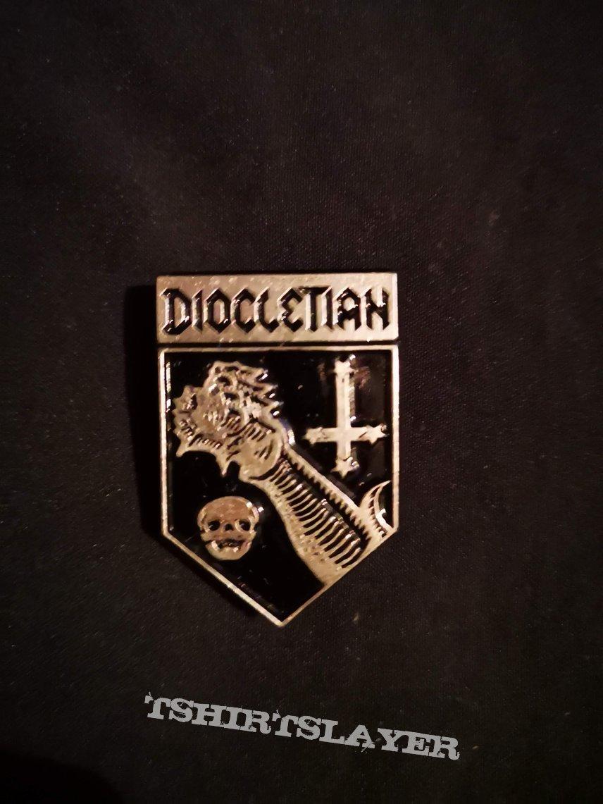Diocletian - Doom Cult Pin